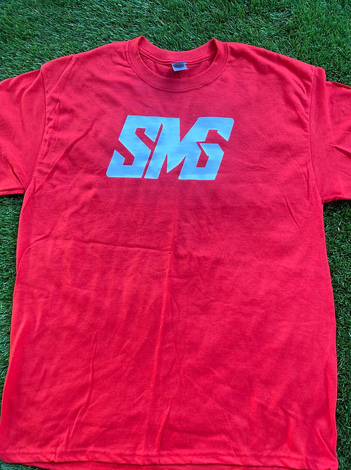 Red & White SMG Shirt