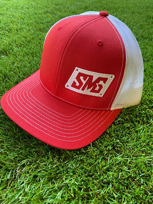 Red SMG snapback