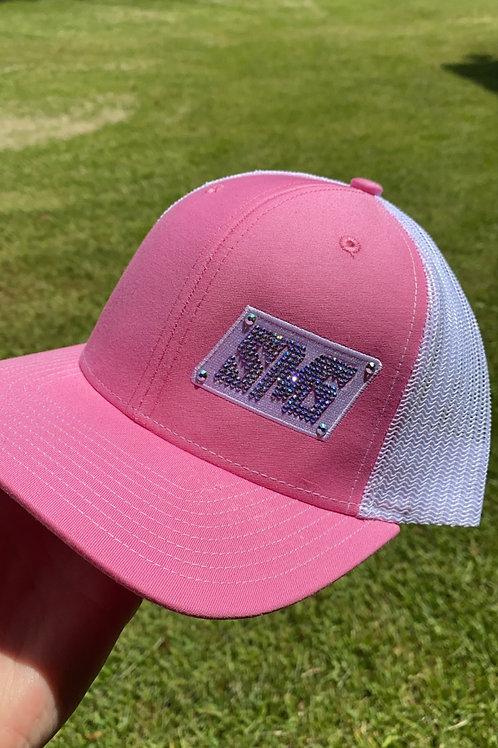 Pink  Swarovski SMG Hat