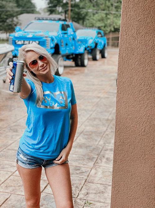 Skoops Blue SMG Shirt