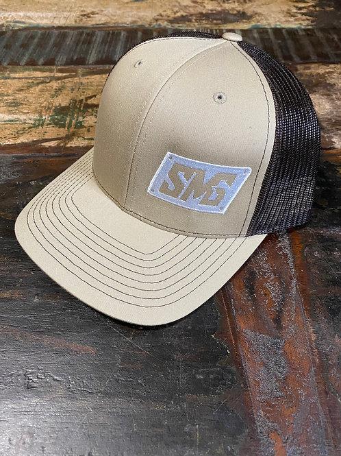 Tan/brown & White Snapback
