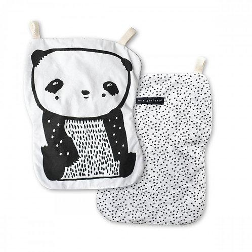 Wee Gallery knisper speelgoed panda