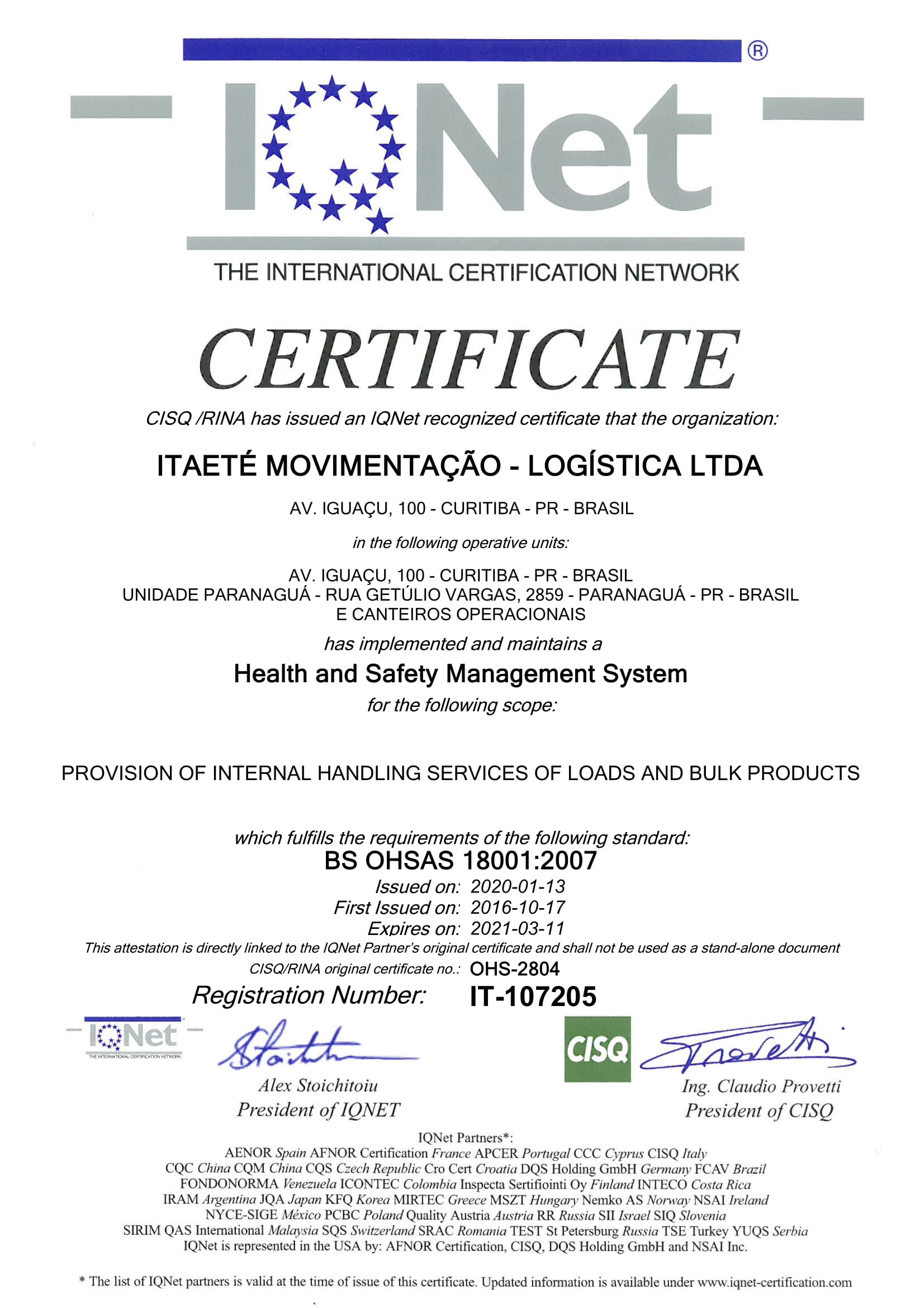 BS OHSAS 180012007 IQNET (1)-1