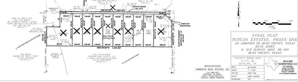 Tuscan Estates Phase 1 - Plat-Cropped 5-
