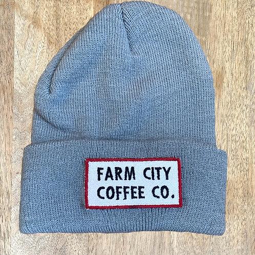 Farm City Coffee Patch Beanie