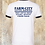 Thumbnail: We Believe in Strong Coffee White Ringer Tee