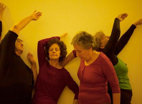 Workshops Dança Contemporânea para Séniores // Lisboa, Sever do Vouga e Paris