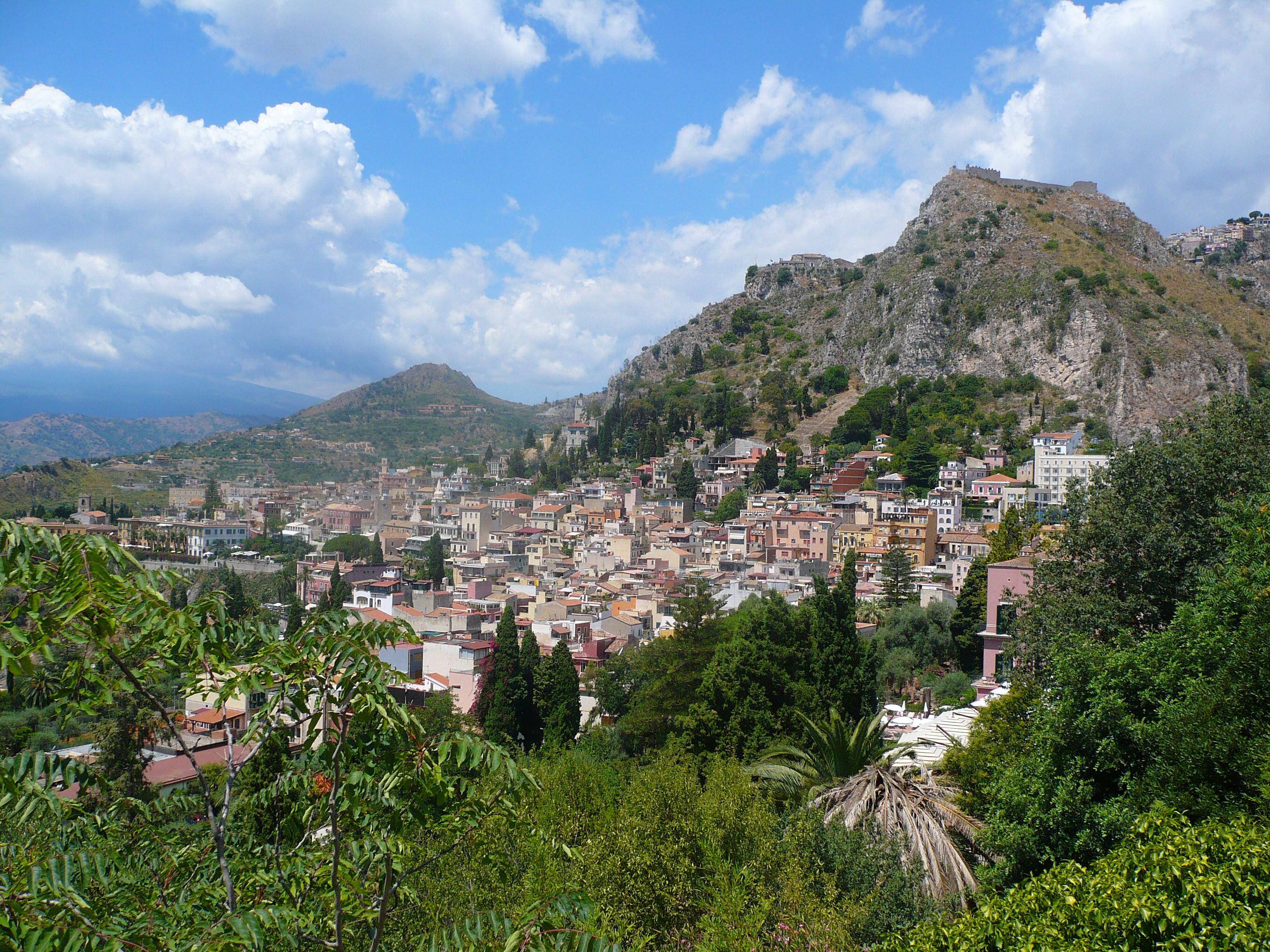 Sicilia, vicino Taormina