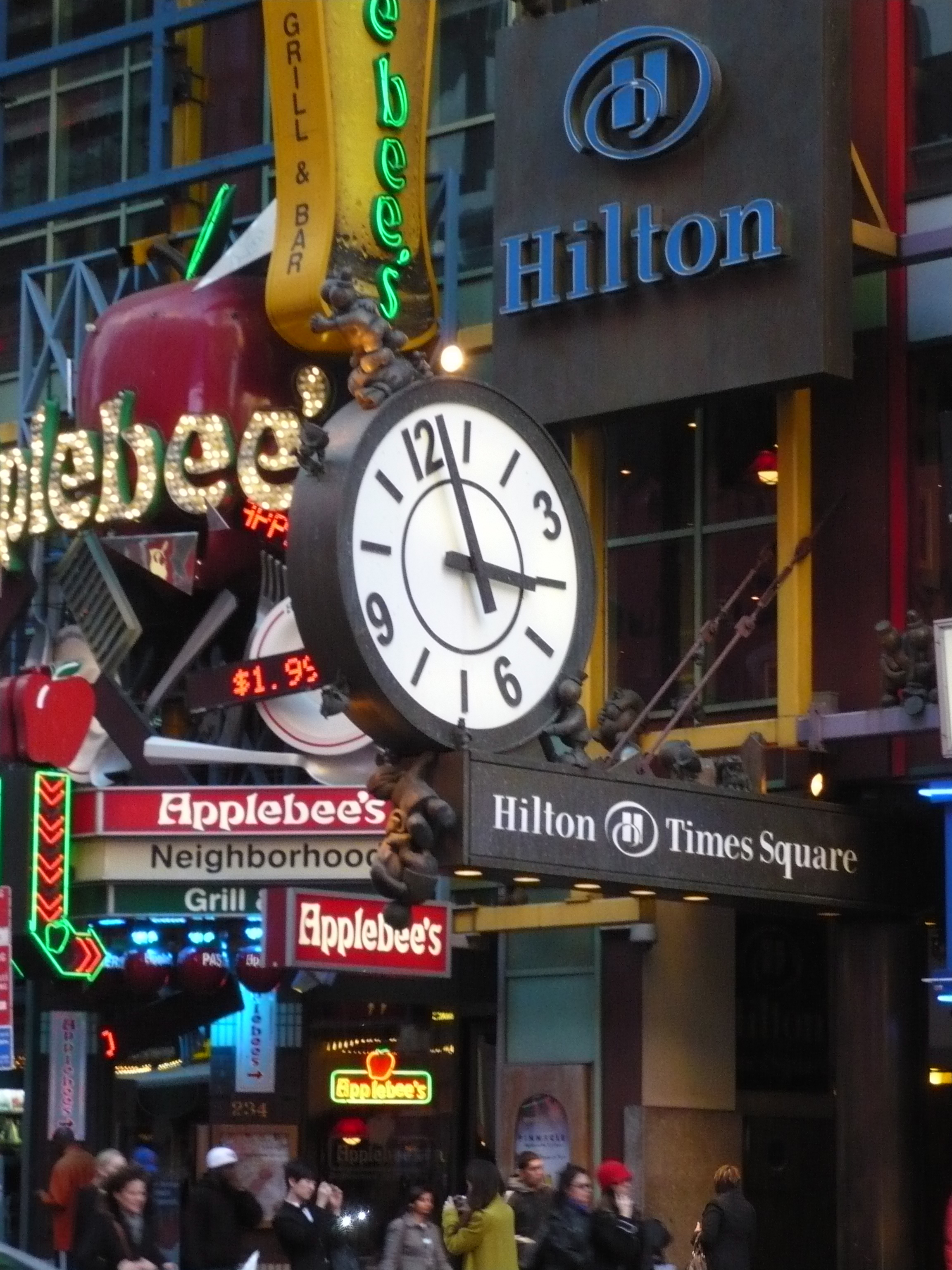 Hilton Hotel, Times Square, NYC