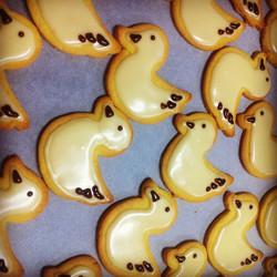Lemon Duckie Cookies