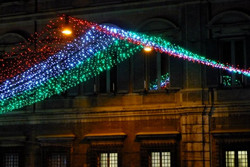 Via del Corso a Natale, Roma