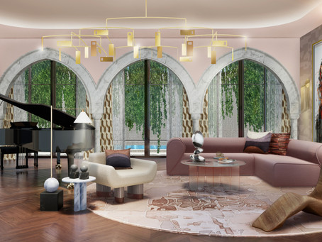 Designing Homes - 'Pastel Paradise' - Modern Miami Style by Isabelle Miaja