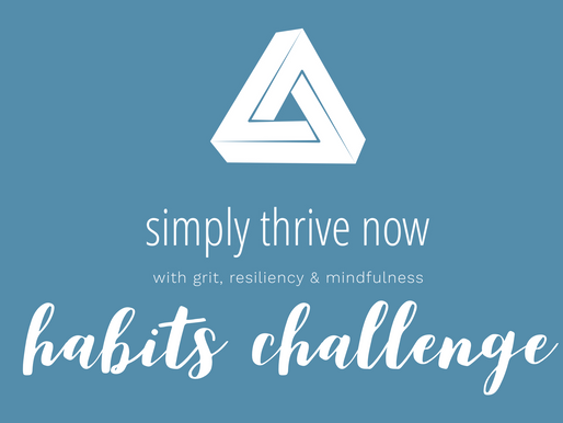 simply thrive now habits challenge