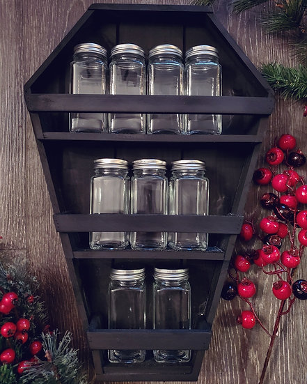Coffin Spice Rack