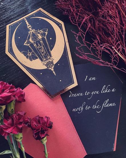Loves Lantern Valentine's Day Card(Single)