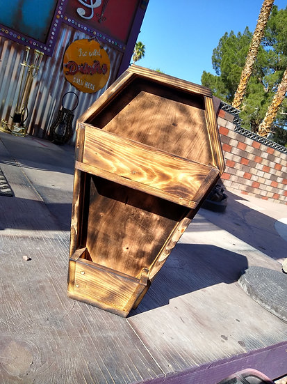 Coffin Planter