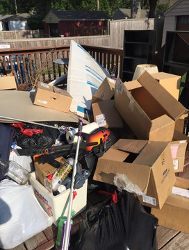 junk removal in zionsvill indiana