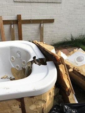 remove hot tub indianapolis