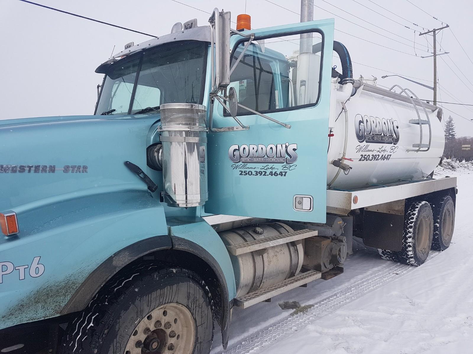 Vacuum Pump Truck, Williams Lake