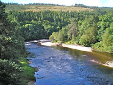 Beautiful Scenery River Spey