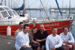 équipe retour Passage du Nord-Ouest