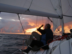 Envoi de spi - Ouest Açores