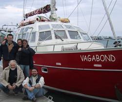 équipe retour du groenland
