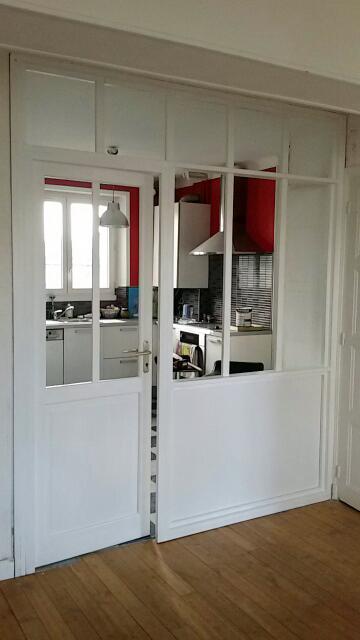verrière Salon/Cuisine