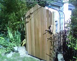 fermeture porte de jardin