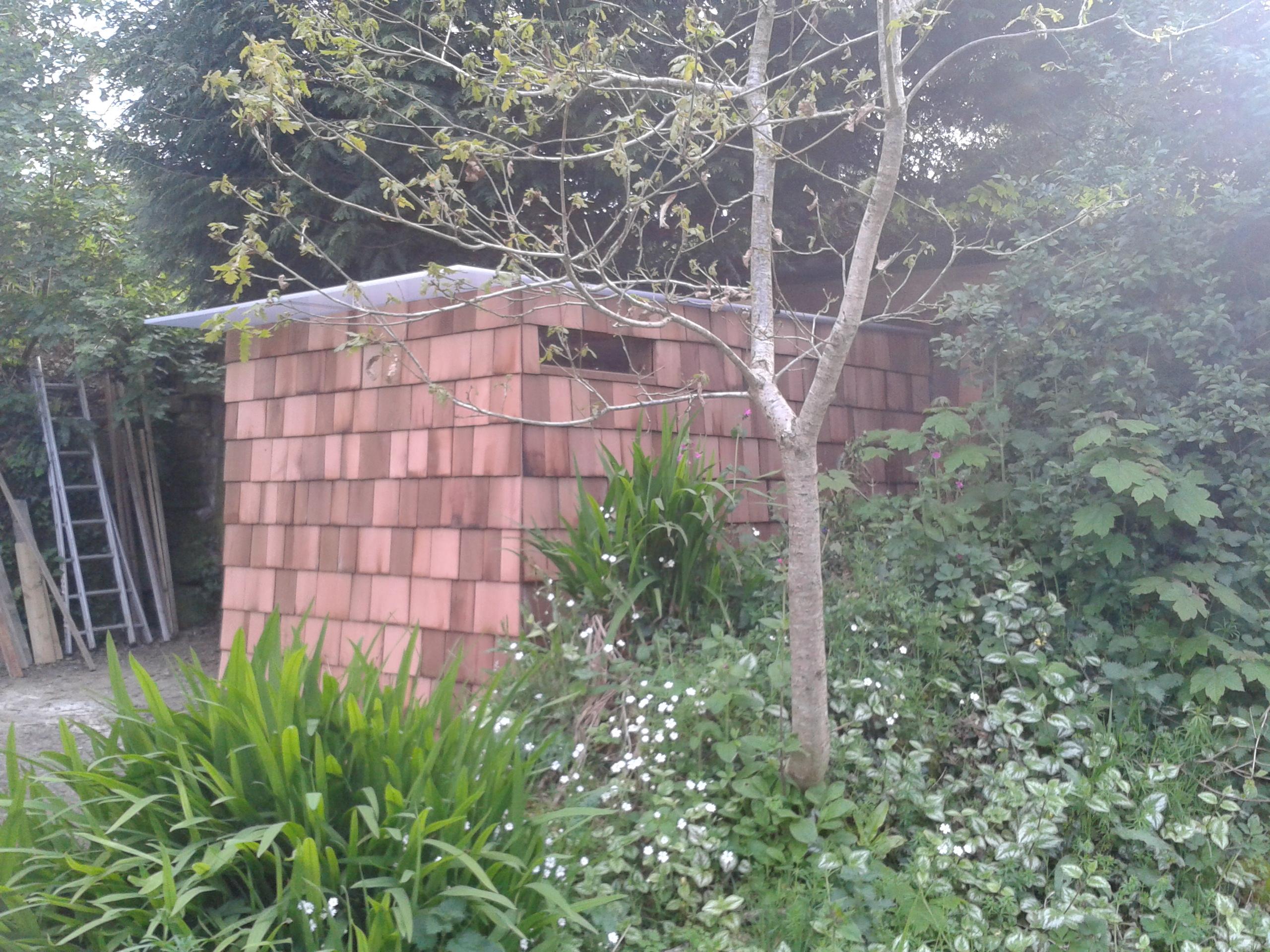 cabane de jardin