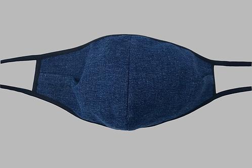 Double-Layer Face Mask - Denim Cotton