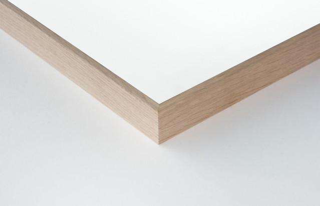 Cadre aluminium placage chêne