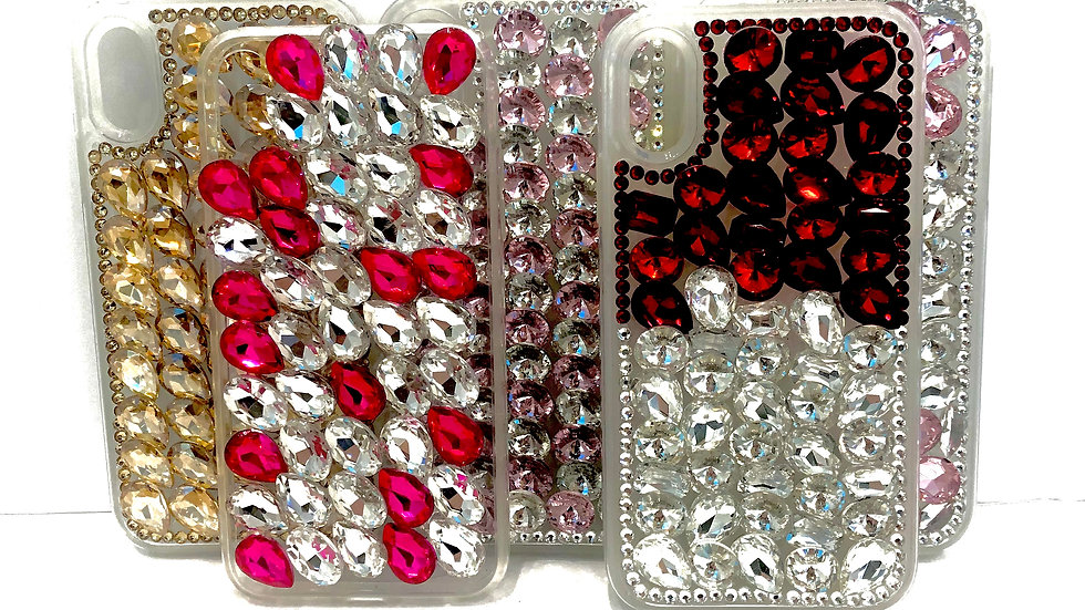 Diamond/Gold/Silver Shiny Phone Case