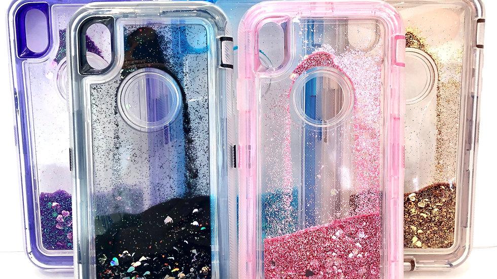 Colorful Glitter Phone Case