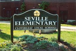School sign goldleaf redwood