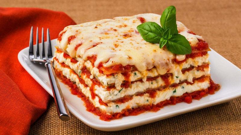 Ricotta Lasagne