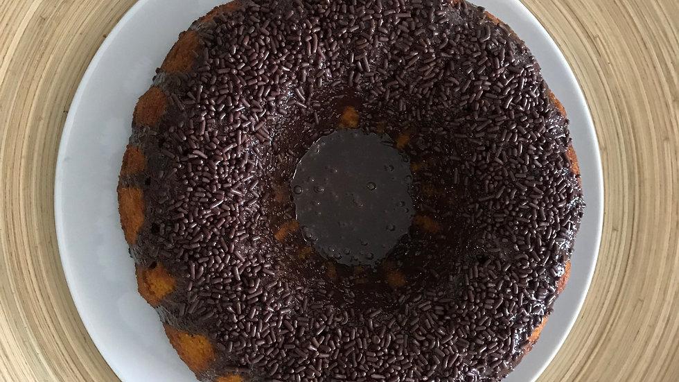 Carrot Cake, brigadeiro topping