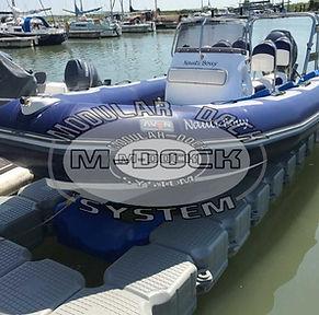 Plataforma Flotante Barca Semirrigida M Dock