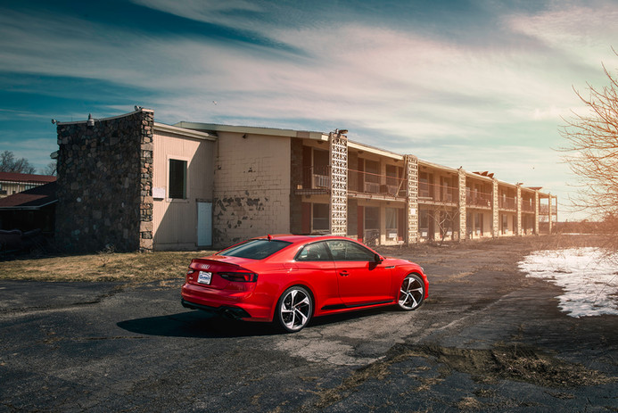 Audi RS5 - Misano Red