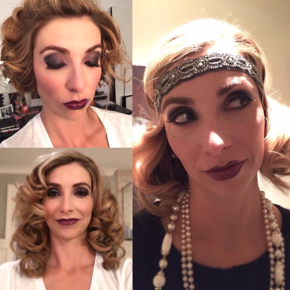 Roaring 20's Party Makeup