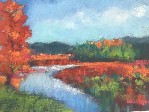 A River Runs Through It, Pastel