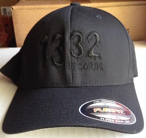"""Black on Black"" Flexfit hat"