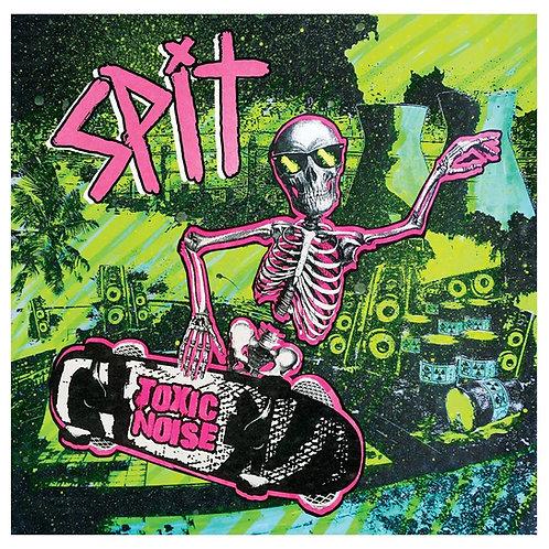 """Spit - """"Toxic Noise"""" - 12"""" Vinyl - Translucent Blue"""