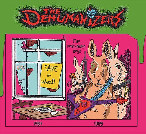 "The Dehumanizers - ""Save the World / Post..."" - CD"