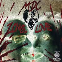 "MDC / Potbelly - ""Zombie Love"" 7"""