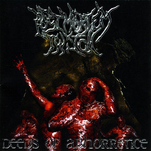 "Post Mortem Twitch - ""Deeds of Abhorrence"" CD"