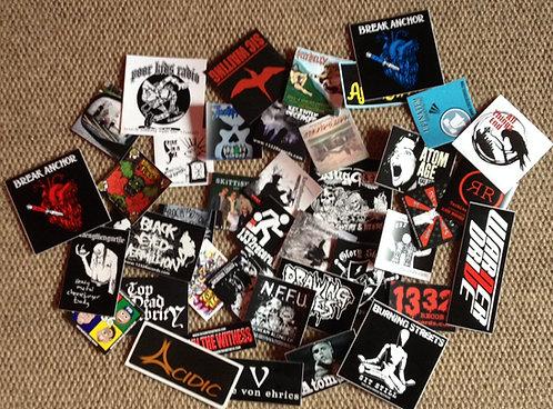 Random Sticker Pack - 20 Random Stickers -