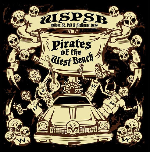 "WSP&SB - ""Pirates of the West Bench"" CD"