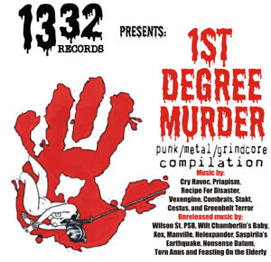 1st Degree Murder - Compilation CD