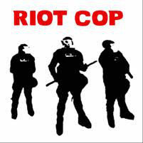 "Riot Cop - ""The Violence"" CD"